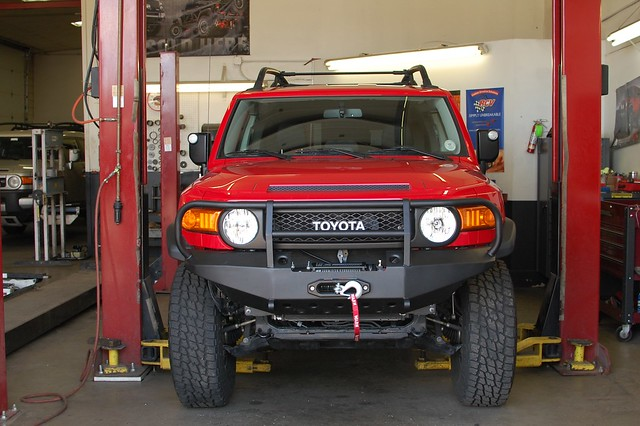 Warrior Products FJ Cruiser Front Bumper