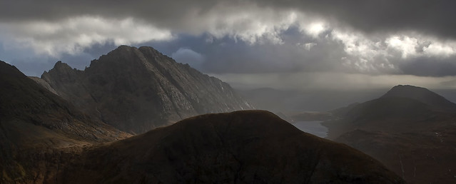 Blaven and Sgurr na Stri Panorama from Marsco