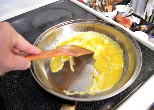 Tomato egg step 2