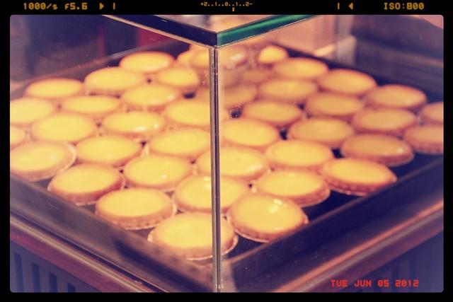 Tai Cheong Bakery egg tarts Hong Kong