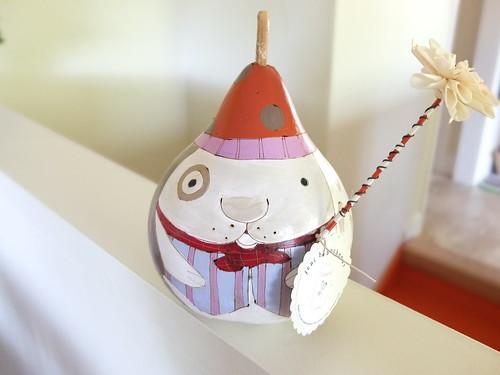 bunny gourd by Jeni Gochnour