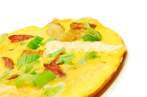 chive omlet