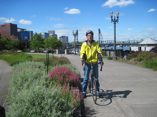 biking in Portland by Southworth Sailor