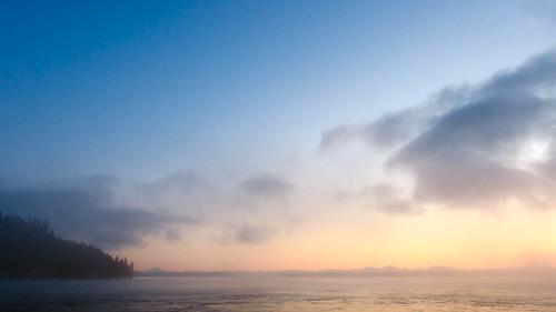 sky water fog ferry clouds sunrise dawn washington nikon day sailing kingston pacificnorthwest wa pugetsound pnw puyallup marinelayer edmonds kitsappeninsula kitsapcounty cascademountainrange washingtonstateferries d7000