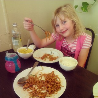 "Miss ""Just Egg Drop Soup And Rice For Me"" tried and LOVED lo mein."
