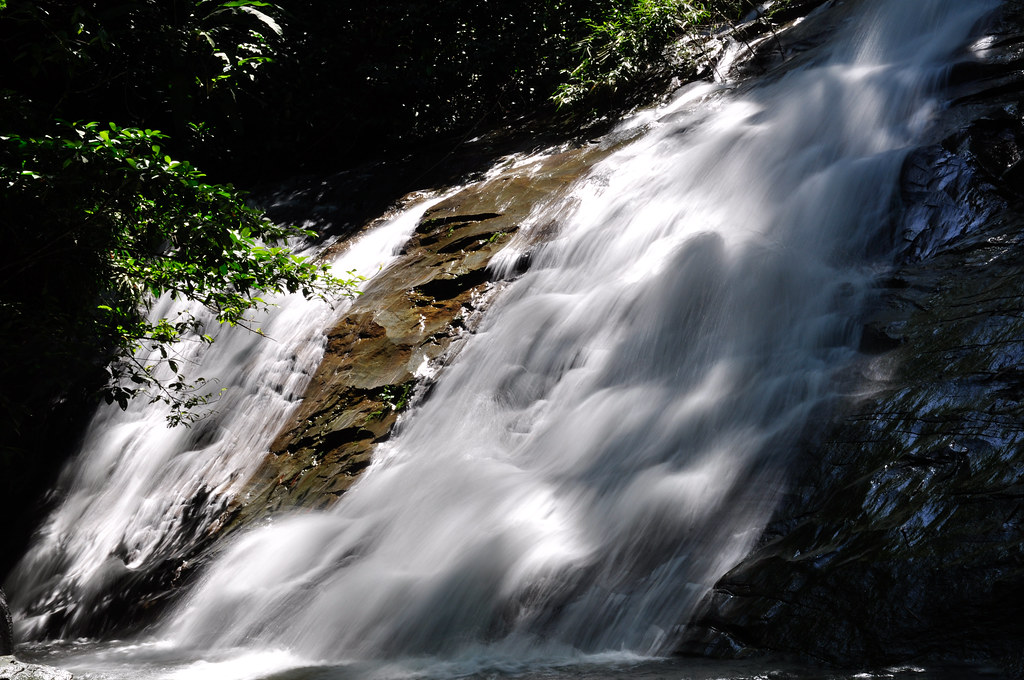 Gabai Waterfalls 尕白瀑布 ...