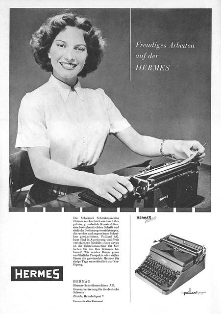 Du 1950-03 Hermes 2000