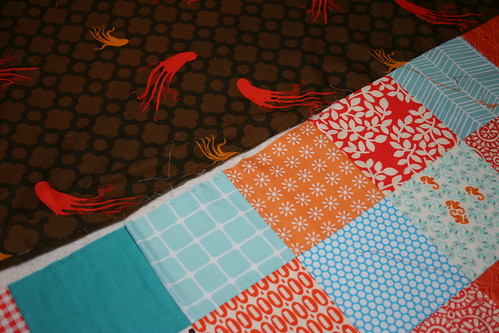 7183173571 212f00326f WIP Wednesday: Unbaste that Quilt!