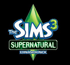 The Sims 3 Supernatural - Logo USA HD