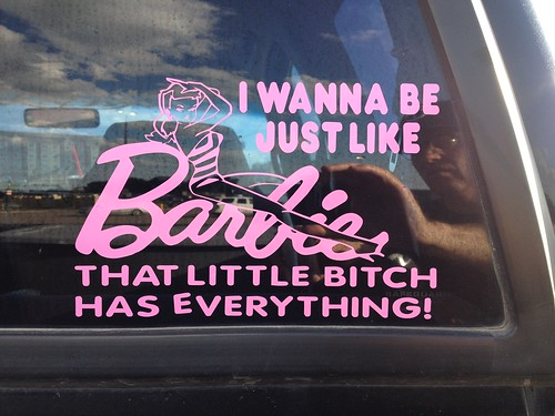 I Wanna Be Like Barbie