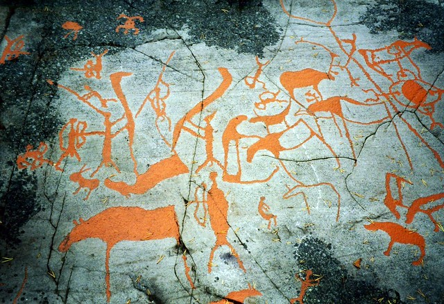 Rock art, Alta