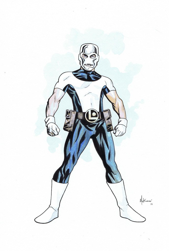 Ferro Lad by Mike McKone
