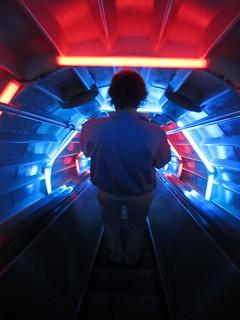 Exiting the Atomium