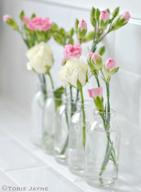 Bottles vase