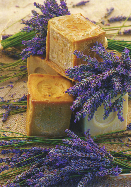 French lavender soap from provence