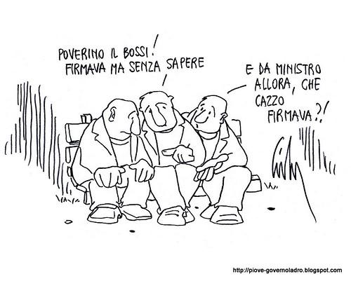 Pensierino legaiolo della sera by Livio Bonino