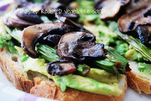 Roasted Toasted Vegetable Sandwich-002