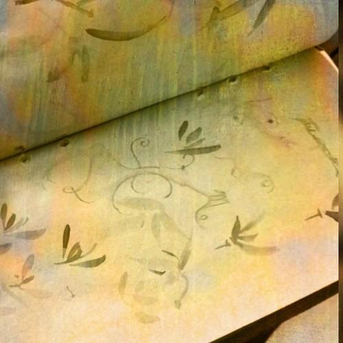 midori travelers wallet as art journal