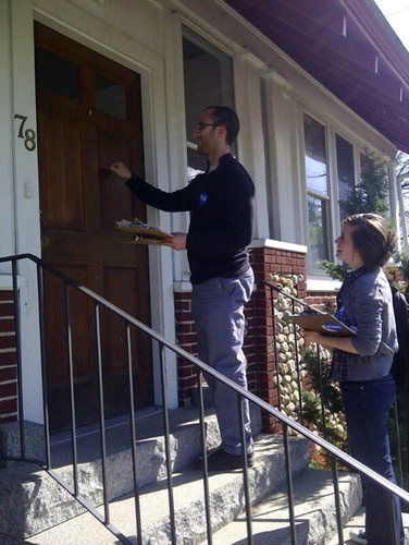 Door-Knocking in NH