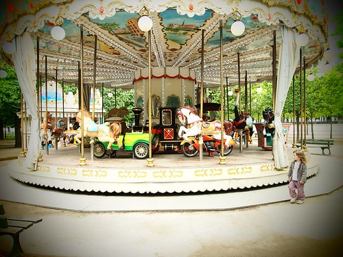 a Paris carousel