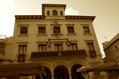 Mercat a la Plaça: l'Ajuntament