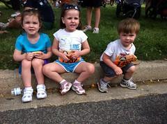 Ready for their fun run!