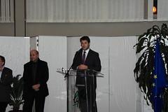 Chesnais-Girard et Le Drian mairie Liffré 7 nov 11
