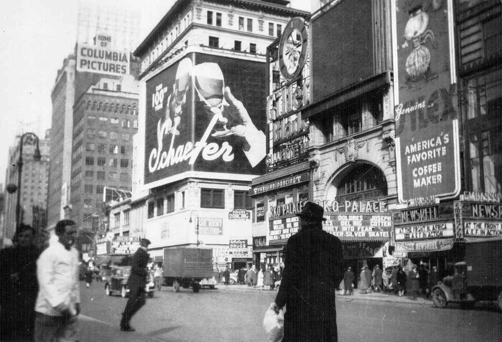1564 Broadway Nyc Map.Rko Palace Theatre 1564 Broadway New York Ny 1943 Flickr