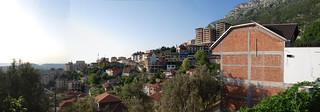 Albanian hillside panorama
