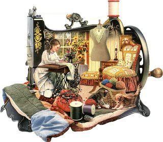 Dia mundial da costureira by ♥Linhas Arrojadas Atelier de costura♥Sonyaxana