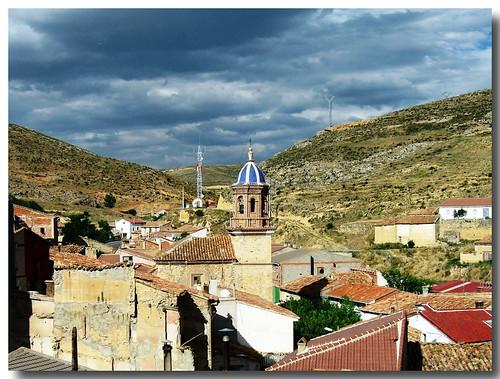 Bueña (Teruel). Iglesia de la Asunción