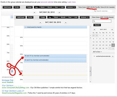 Calendar Marker inconsistency
