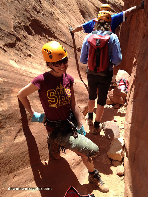 Canyonnering at Escalante National Monument 14