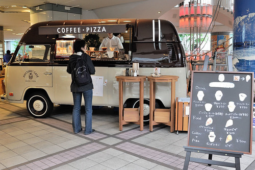 COFFEE PIZZA 餐車