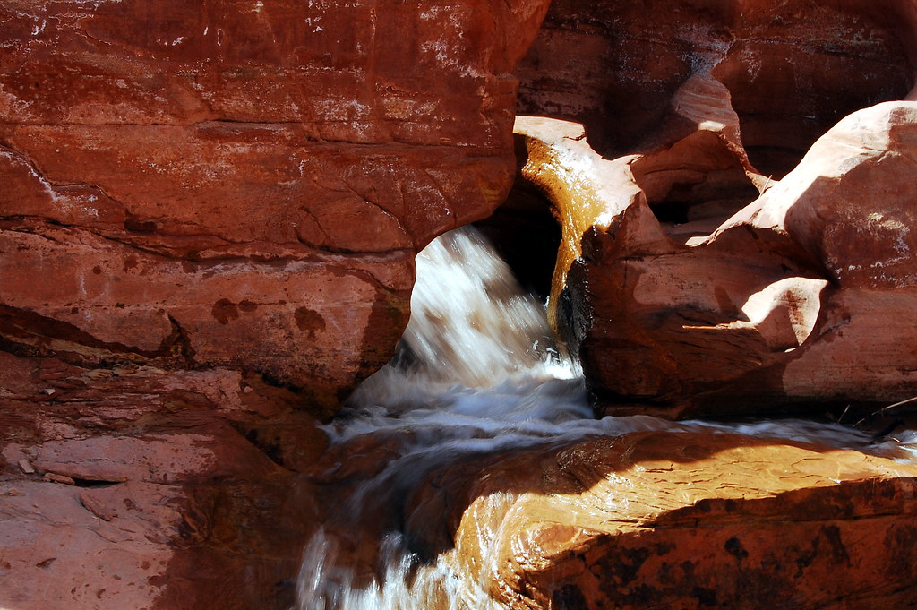 Capitol Reef Waterfall 3
