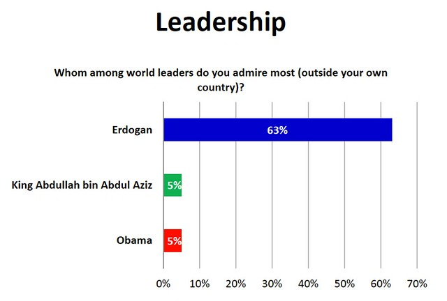 Erdogan as Leader Egyptians Admire Most
