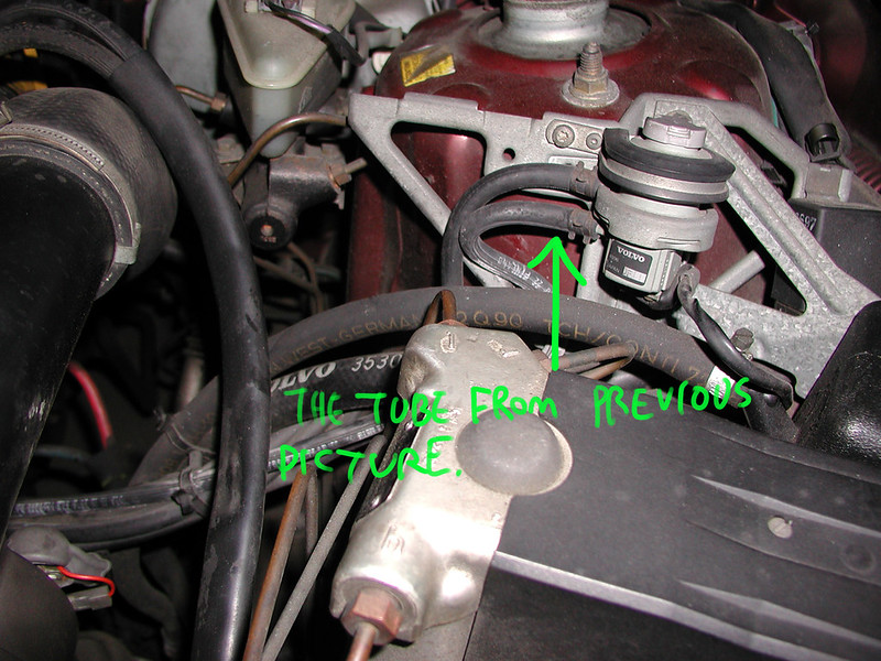 Need Help Identifying A hose attached to EGR valve ...