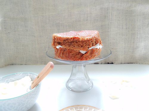 spiced coconut cake
