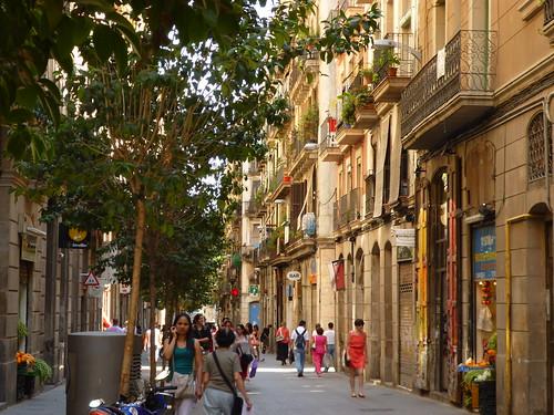 Raval streets