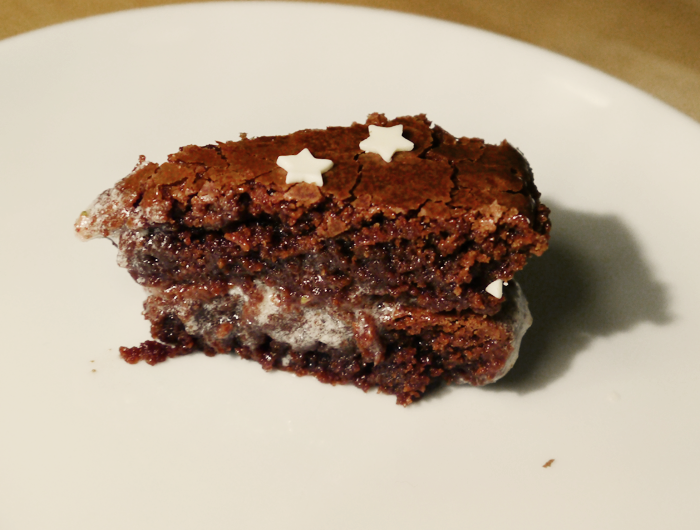 chocolate brownie cake 3