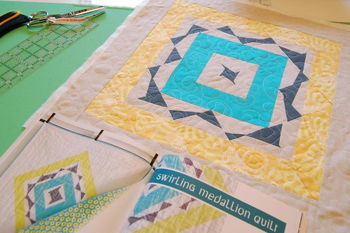 Quilting Modern - Swirling Medallion