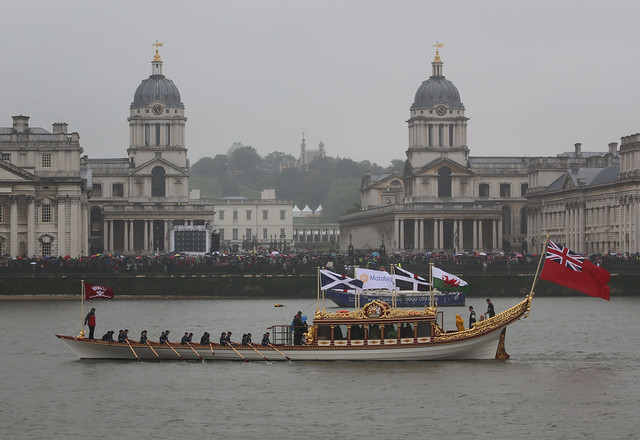 Gloriana at the Old Royal Naval College