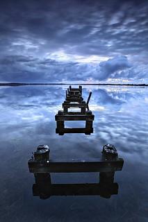 Jetty Reflections