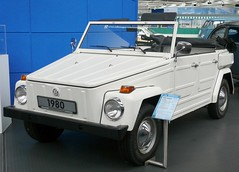 VW Typ 181 Safari 1980 white vl