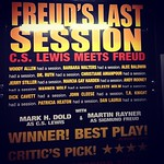 Just saw Freud's Last Session off-broadway. If you enjoy dry religious debated discourse, you should check it out. (For the record, I totally do.)