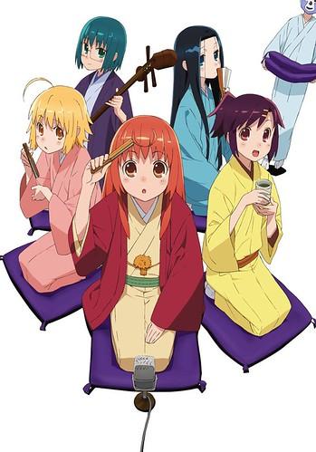 120611(2) - 電視動畫版《じょしらく》確定在7/5開播,最新宣傳海報一同揭曉!