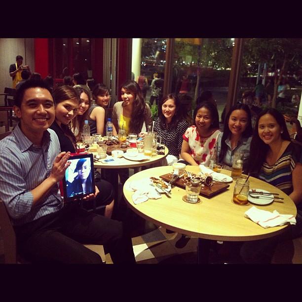 Presscon & dinner with friends :)
