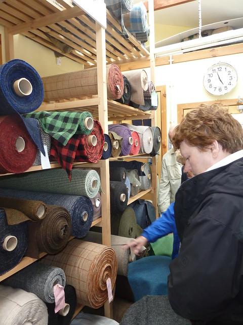 Harris Tweed Cloth, Luskentyre