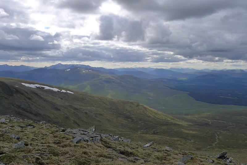 Northwest from Aonach Beag