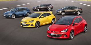 Neue Opel Astra-Familie